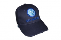 BERRETTO BASEBALL DESTROYED LOGO 3D SSC NAPOLI