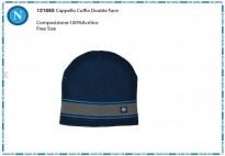 CAPPELLO CUFFIA DOUBLE FACE